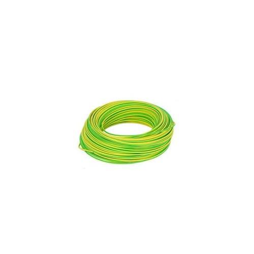 Hilo Amarillo/Verde de 10mm Libre de Halógenos 5 Metros