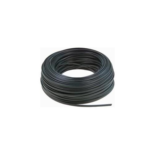 Hilo Negro de 6mm Libre de Halógenos 5 Metros