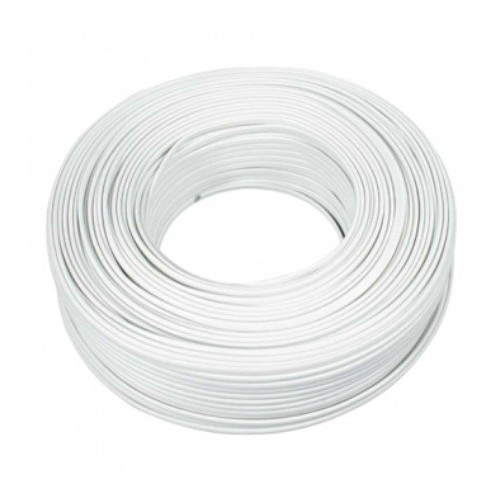 Cable Paralelo Blanco 2x1mm 5 Metros