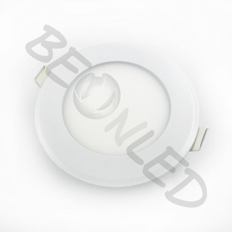 6W Minipanel Led Redondo Neutro 400 Lúmenes