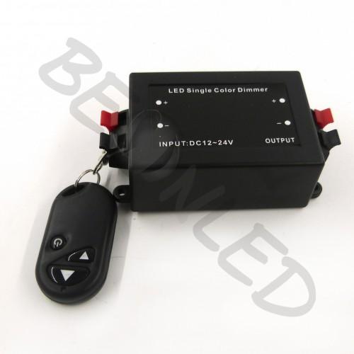 Regulador para Tira de LED con Mando Control Remoto 8A