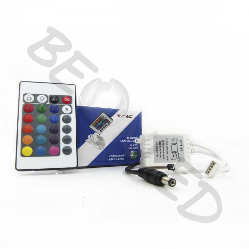 Controlador Infrarrojo con Controlador Remoto de 16 botones