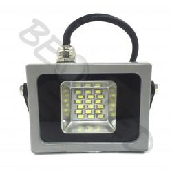 10W Proyector LED Gris Luz Fría