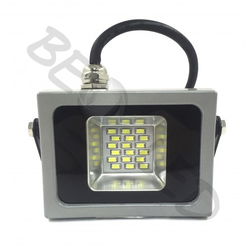 10W Proyector LED Gris 6000K