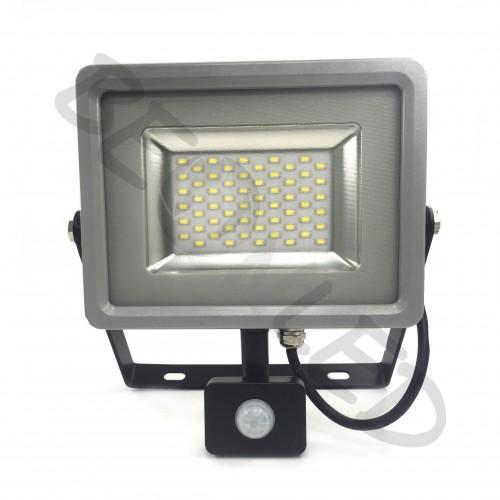 30W Proyector LED Sensor de Movimiento Frío