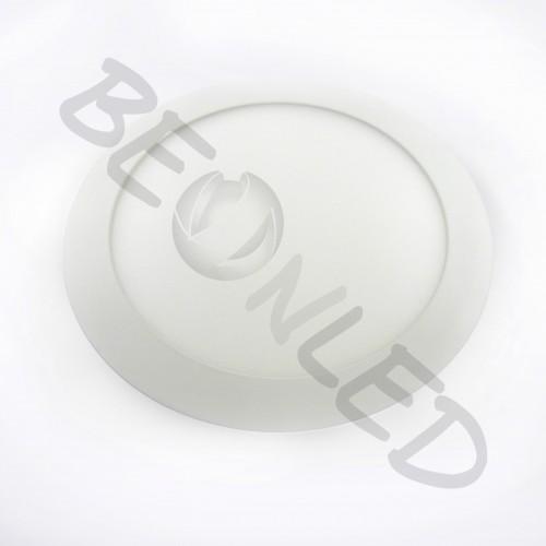 18W Minipanel Led Redondo Plástico Luz Fría 1350 Lm