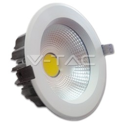 20W Downlight Blanco Luz Fría