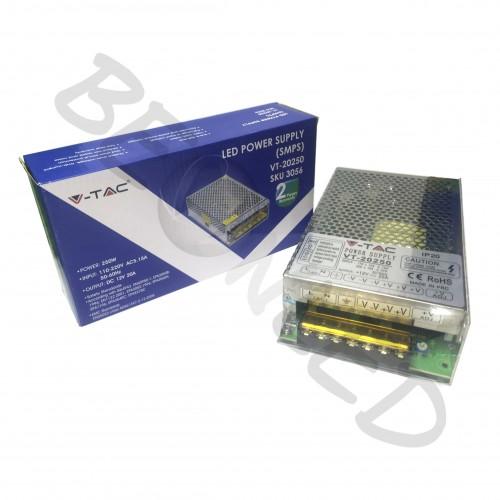 250W F.Alimentación 220V/12V 20A IP20