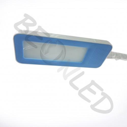 7W Flexo de Mesa Azul Luz 5000K