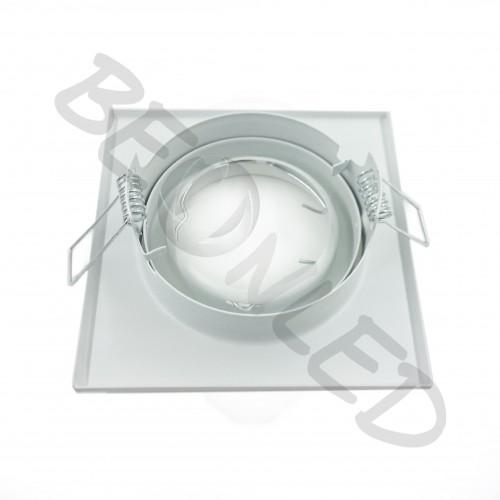 Aro Cuadrado Blanco Basculante