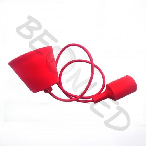 Lámpara Colgante sin Bombilla Roja