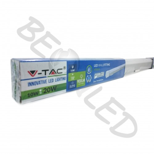 10W Tubo LED 60cm Superficie Luz Neutra