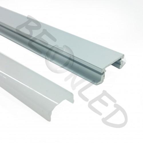 Perfil de Aluminio para empotrar 1m