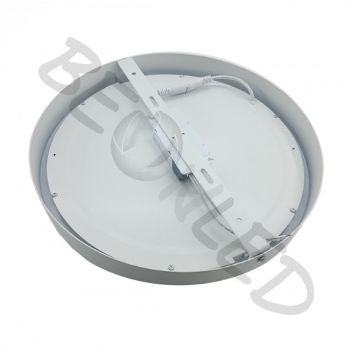 18W Downlight Redondo Superficie Blanco Luz Fría