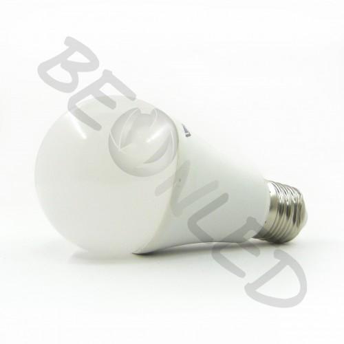 9W E27 A60 Termoplástica Luz Fría Autorregulable 806 Lm