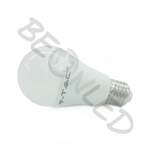 10W E27 A60 Termoplástica Regulable Luz Cálida 806 Lm
