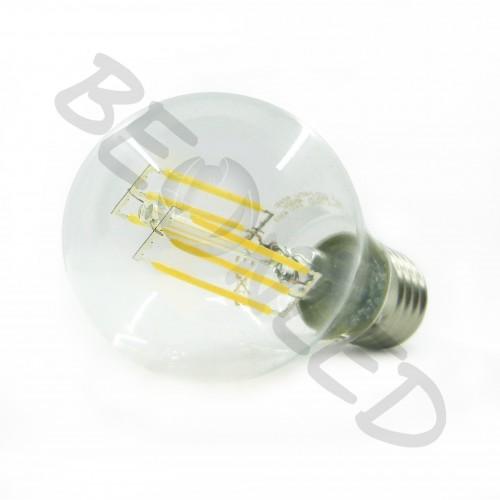 6W E27 A60 Filamentos Luz Neutra 550Lm