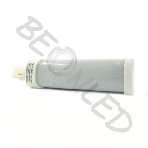 6W Lámpara PL G24 Luz Neutra 485Lm