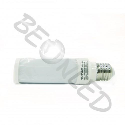 10W Lámpara PL E27 Luz Neutra 850Lm
