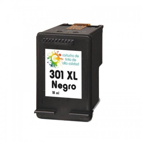Cartucho HP 301XL Compatible Negro