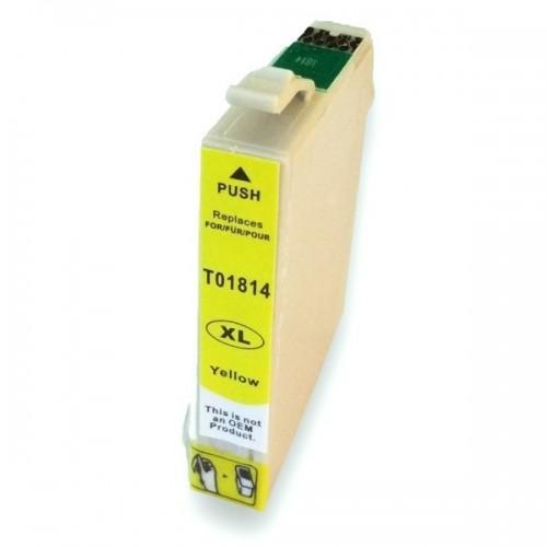 Cartucho EPSON T1814 Amarillo Compatible