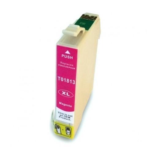 Cartucho EPSON T1813 Magenta Compatible