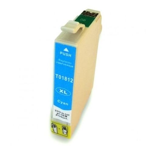 Cartucho EPSON T1812 Azul Compatible