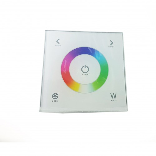 Panel Cristal Touch RGB 12/24V 3CGHx4A