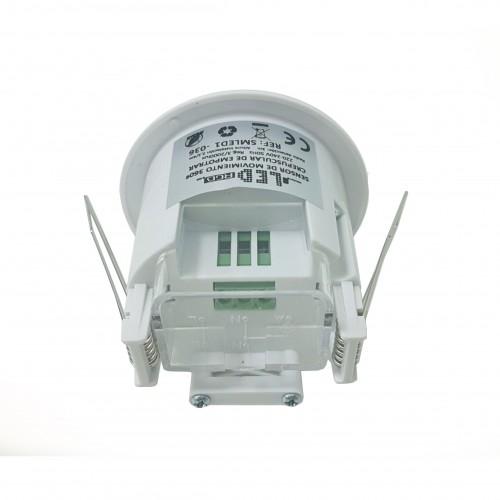 Sensor Mov. Crespuscular Empotrar 360º