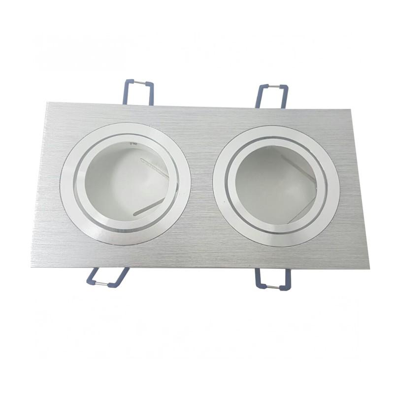 Aro Cuadrado Doble Aluminio
