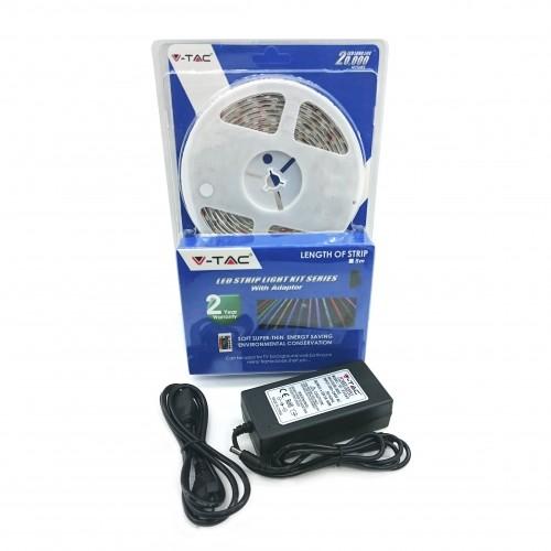 Blister Tira de Led SMD5050 60 LED`S 6000K IP65