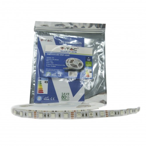 10.8W SMD5050 60Led/m Luz Amarilla IP20