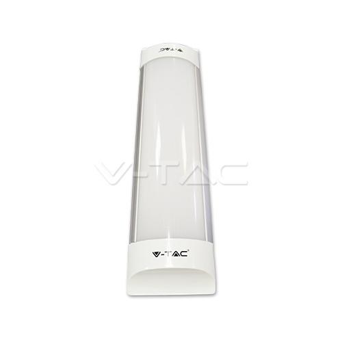 10W Regleta LED 30cm Aluminio Luz Fría