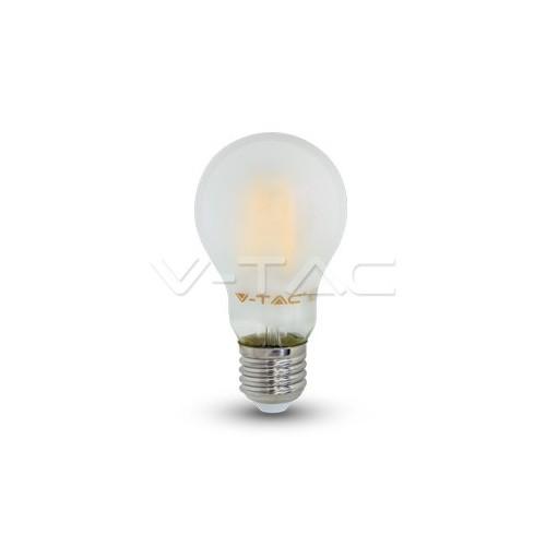 4W E27 A60 FIlamentos Opaco Luz Neutra