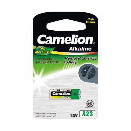 Pila Camelion Alcalina 12V/45mAh A23