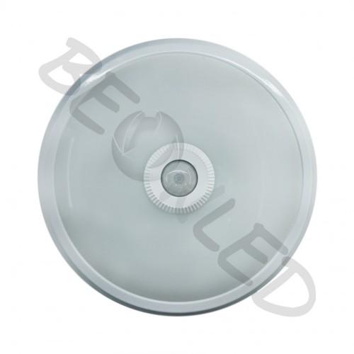 Plafón con Sensor 12W Luz Fría