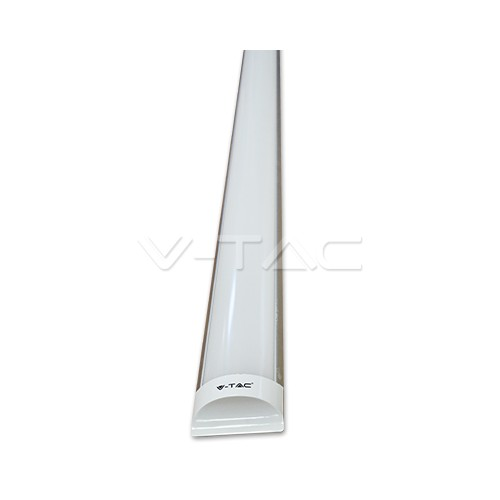 40W Regleta LED 120cm Aluminio Luz Fría