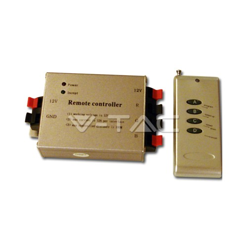 Radio Controlador con Mando a Distancia de 4 botones