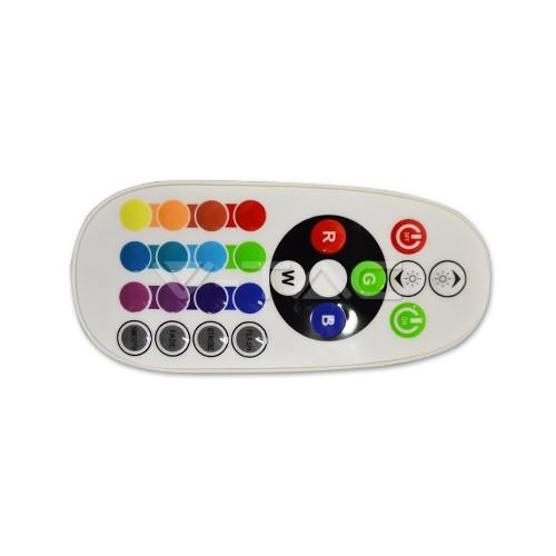 Controlador Tiras de LED RGB 24Bot. 72W 6A IR