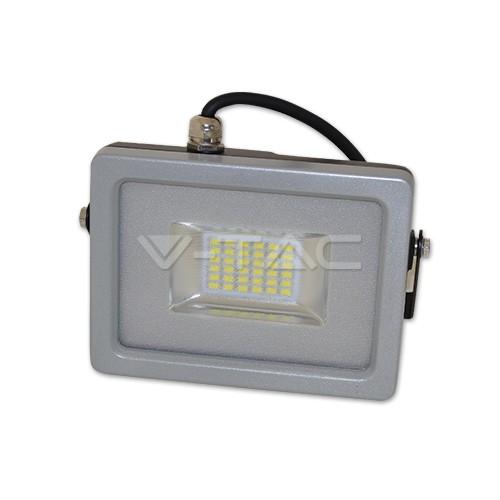 20W Proyector LED Gris Luz Cálida