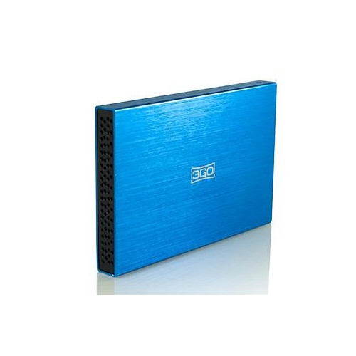 "Carcasa 3G0 Azul DD 2.5"" Sata - USB 2.0"