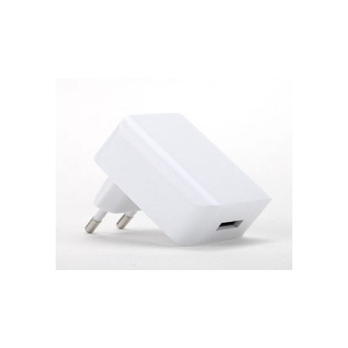 Cargador Universal USB 2,1A Blanco