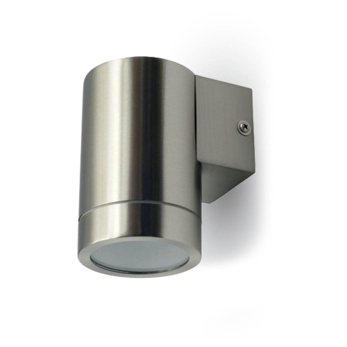 Aplique Inox de Pared 1WAY 1xGU10 IP44