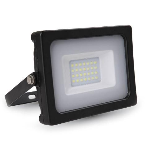 20W Proyector LED Negro Luz Fría