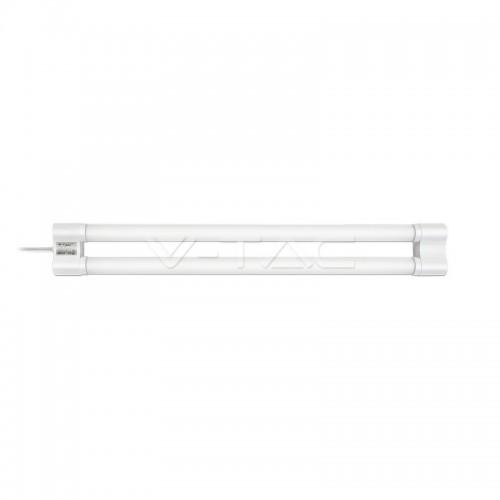 Regleta LED 2xT8-60cm 18W Luz Neutra