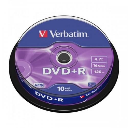 Verbatin DVD+R 16x 4.7GB 10 UD.