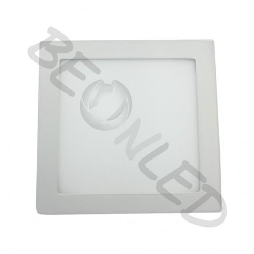 18W Minipanel Led Cuadrado Luz Cálida