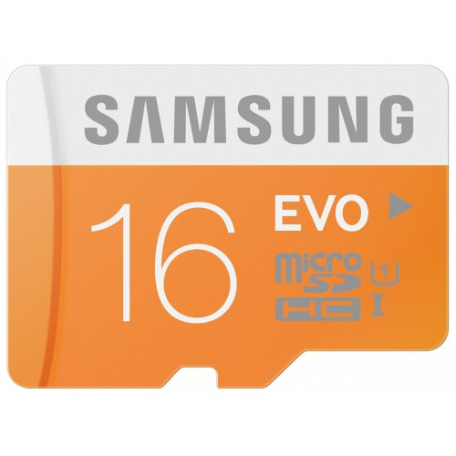 Tarjeta de Memoria Samsung 16GB MicroSD EVO Class 10