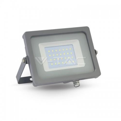 30W Proyector LED Gris Luz Fría
