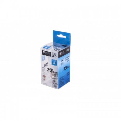 Bombilla LED Esférica regulable 5W E27 5000K